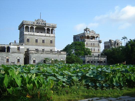 広東開平碉楼と村落