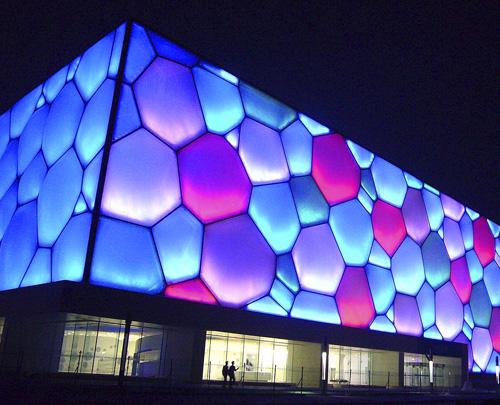 北京五輪水泳競技会場・ウォーターキューブ