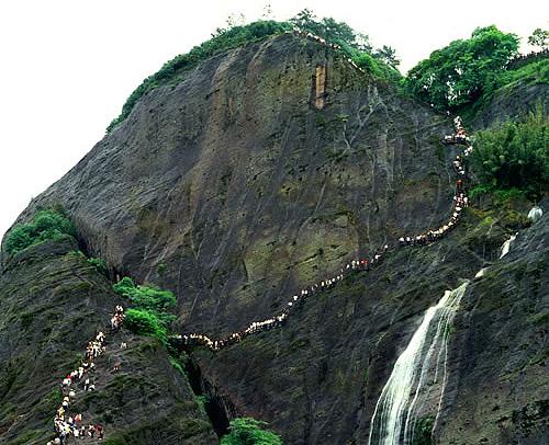 武夷山ハイキング3日間