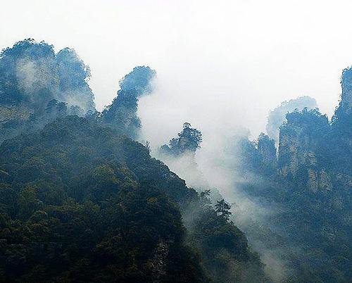 上海発、武陵源張家界2泊3日間の旅
