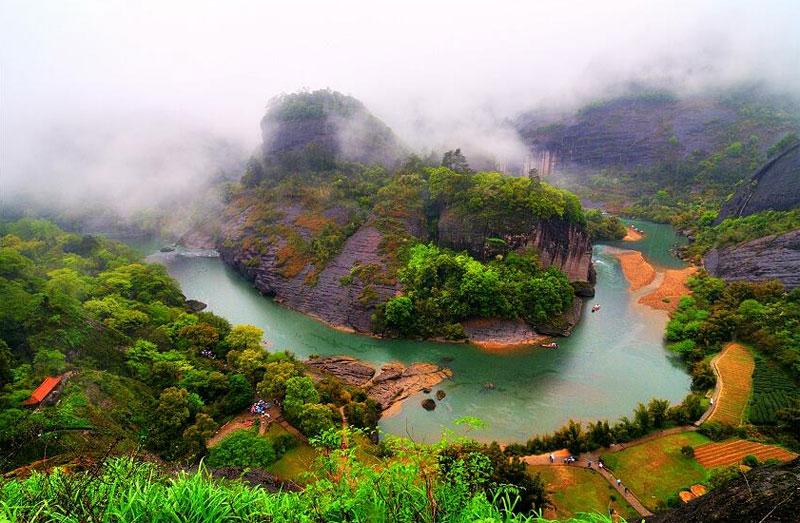 上海発武夷山と客家土楼 そしてコロンス島5日間の旅