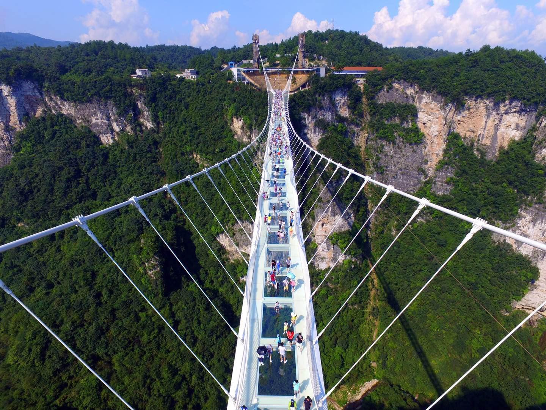 大峡谷ガラス橋
